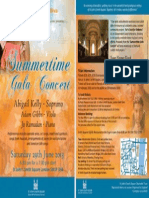 Summer Gala Concert in aid of Diabetic Diva