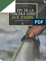 J.r.r Tolkien - El Fin de La Tercera Edad