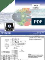 JMC 80x38 Fixed Vane DC Fan