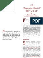 A  Comparative  Study  Of  BSP V BCP