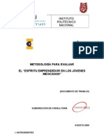 METODOLOGÍA DE EVALUACIÓN IMJ