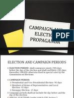 Campaign and Election Propaganda