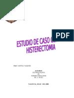 Caso de Histerectomia de La Unefa