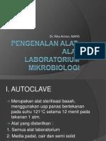 Pengenalan Alat-Alat Laboratorium Mikrobiologi