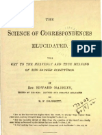 Edward Madeley and Benjamin F Barrett THE SCIENCE OF CORRESPONDENCES ELUCIDATED The Swedenborg Publishing Association Germantown 1888