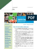 News Bulletin from Aidan Burley MP #65