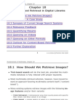 Chapter 18 - Content-Based Retrieval in Digital Libraries