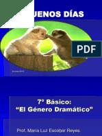 el-genero-dramatico 7° básico
