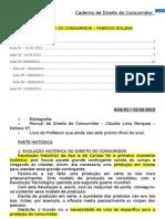 Caderno de Direito Do Consumidor