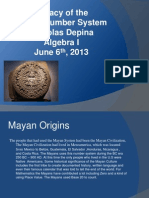 depinan mayan number system