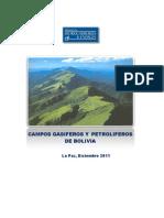 Campos Gasiferos y Petroliferos de Bolivia