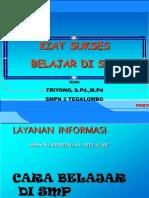 Layanan Informasi Bidang Belajar BK