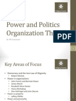 Lecture7.PowerandPoliticsOrganizationalTheory