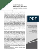 Ontologia pós-metafísica - Pich e Fenster
