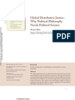 Blake, Global Distributive Justice-Why Political Philosophy Needs Political Science