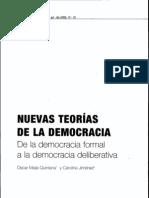 Mejía y Jiménez - Nuevas teorías de la democracia