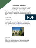 Como Elegir El Mejor Hospital en Monterrey