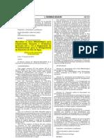 AGUA-GUÍA METODOLÓGICA INSPECCIONES OCULARES FORMATOS REGLAMENTO PROCEDIMIENTOS OTORGAMIENTO DERECHOS USO