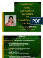 Competency Workshop Album - Chandramowly - Compiled by Sahana