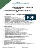 Folleto Sem. Estandares Educativos Sabado 20 Abril 2013