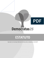 Estatuto Do Partido Democratas