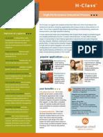 Datamax H-Class Industrial Printer Brochure