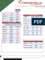 Morning Stock Market News 21 June 2013