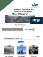 1 Marcelo Parra - Cap Mineria Minas El Romeral