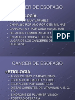 5 Cancer de Esofago Done