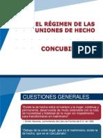 EL RÉGIMEN DE LAS UNIONES DE HECHO