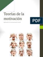 Introducción Teorías de la motivación