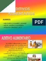 ADITIVOS ALIMENTARIOS