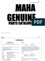 Yamaha YSR50 Parts Manual
