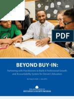 Beyond Buy-In