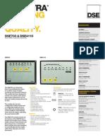 Dse 703 & Dse 4110 Auto Start Control Modules