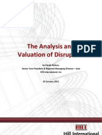 P2011 - The Analysis and Valuation of Disruption - Derek Nelson