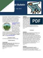 July 2013 Legislation Edition