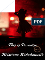This is Paradise by Kristiana Kahakauwila - Excerpt