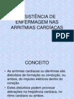 ASSISTENCIA DE ENFERMAGEM NAS ARRITMIAS CARDÍACAS