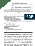 TCU - Informativo de Jurisprudência sobre Licitações e Contratos nº 3