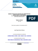 Modelo Educativo Basado Competencias Garcia