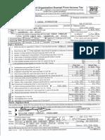 MSLF Form 990 2012