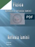 Proiect Fizica - Reflexie Si Refractie