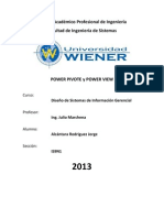 Power Pivot y Power View