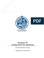 Windows XP - Configuración de impresoras
