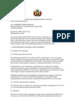 SENTENCIA CONSTITUCIONAL PLURINACIONAL 0033-2012