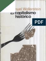 Wallerstein Immanuel-El capitalismo histórico