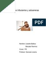 Tribunales Tributarios y Aduaneras