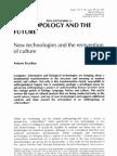 Arturo Escobar Anthropology and the Future