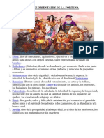 7 Dioses Orientales de La Fortuna